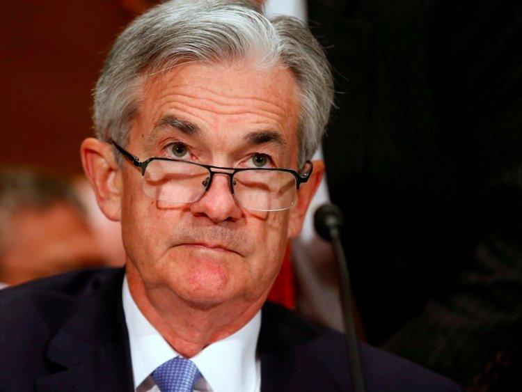 Rupee almost flat ahead of Powell testimony