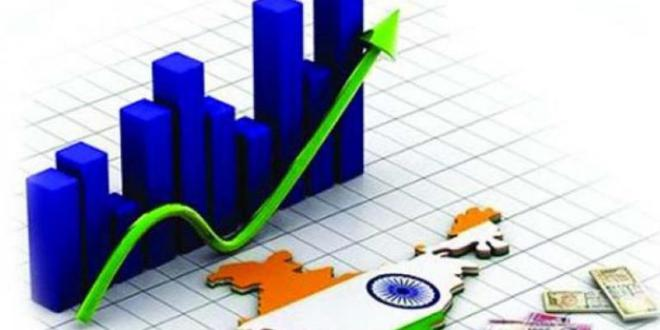 Rupee almost flat as India's upbeat GDP growth offsets risk aversion