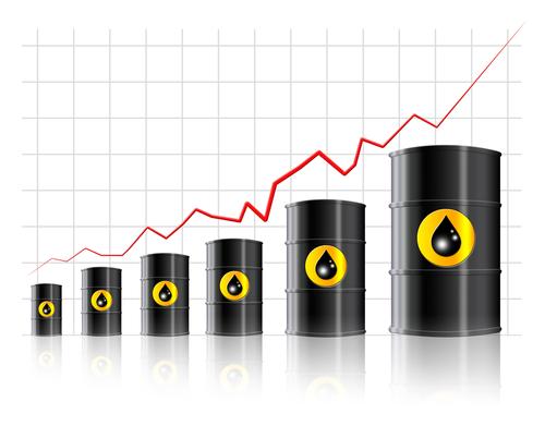 Rupee lower as Crude oil hits 3-year high