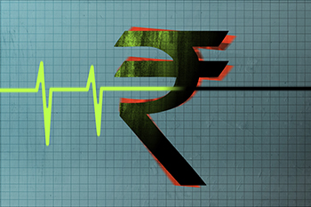 Rupee opens lower as retail inflation rises more than expected; State poll results eyed