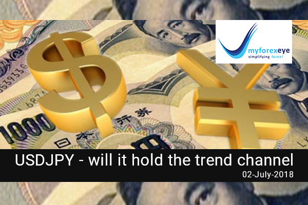 USDJPY- Will It Hold The Trend Channel