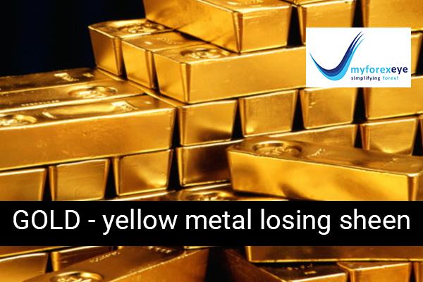 GOLD - yellow metal losing sheen - 20Jul2018