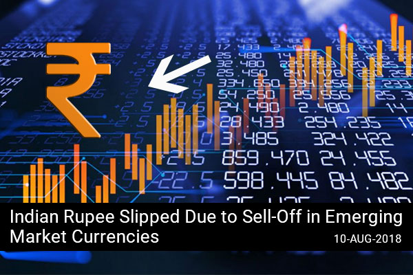 Indian Rupee Slipped Due to Sell-Off in Emerging Market Currencies