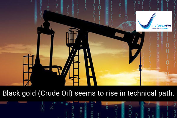 Black gold (Crude Oil) seems to rise in technical path