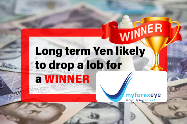 Long term Yen likely to drop a lob for a winner