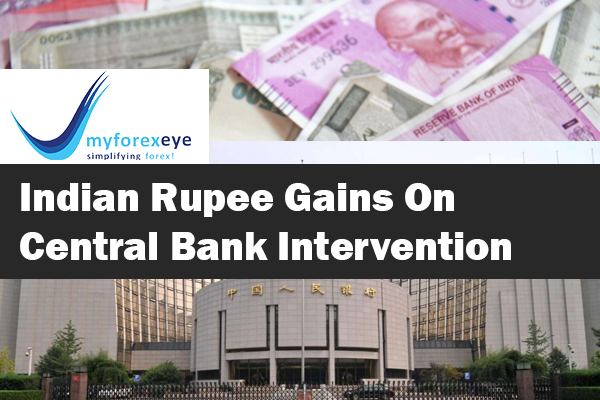 Indian Rupee Gains On Central Bank Intervention