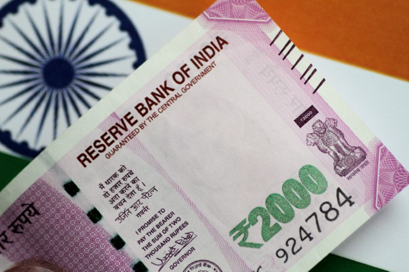 The Indian rupee opened little higher at 72.30
