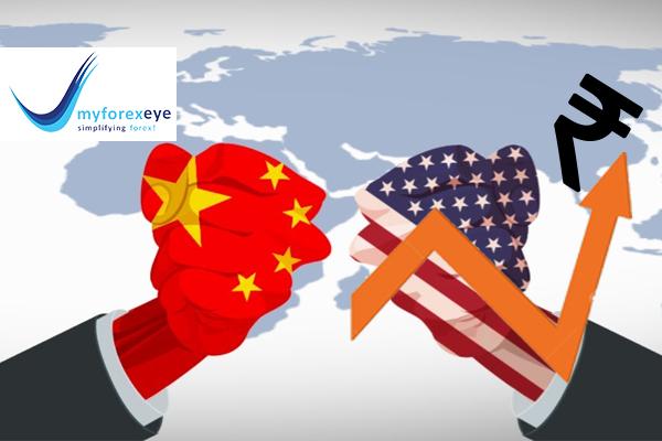 Rupee opened higher on China's response to U.S. tariffs