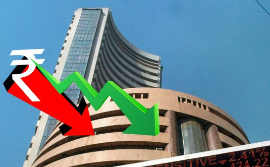 Rupee turns lower following fall in local equities