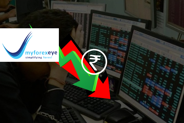 Rupee falls reflecting Indian equities' volatility