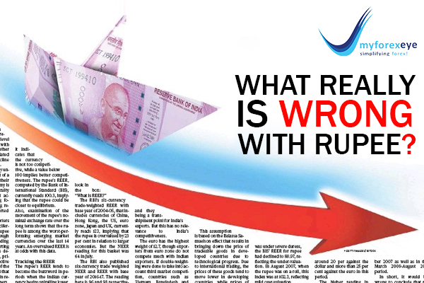 What really is wrong with Rupee?
