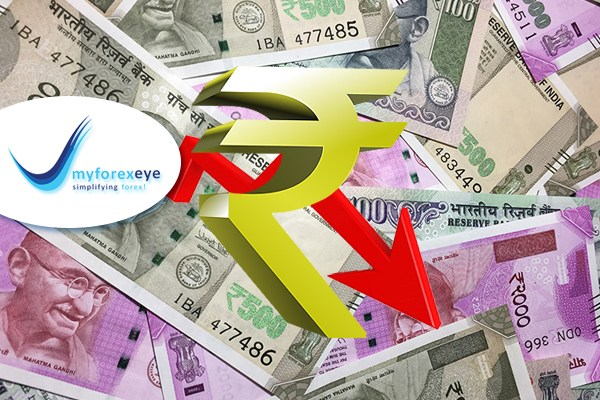 Rupee turns lower on dollar bids