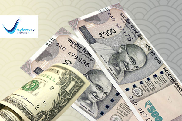 Rupee logged its first weekly rise in 3 weeks
