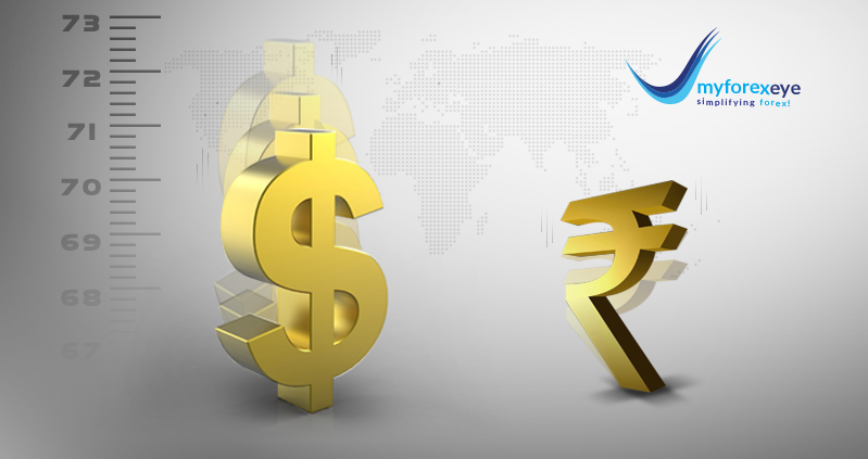 Rupee posted its biggest weekly fall in 14 weeks