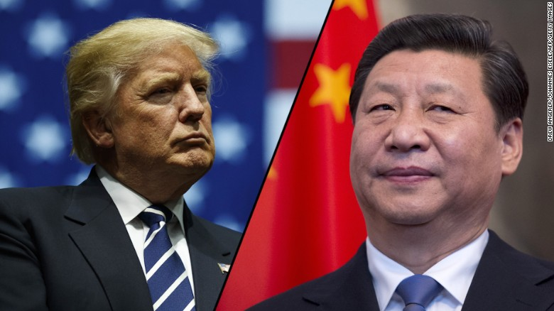 Trump says tariffs making companies leave China, a deal can't be '50-50'