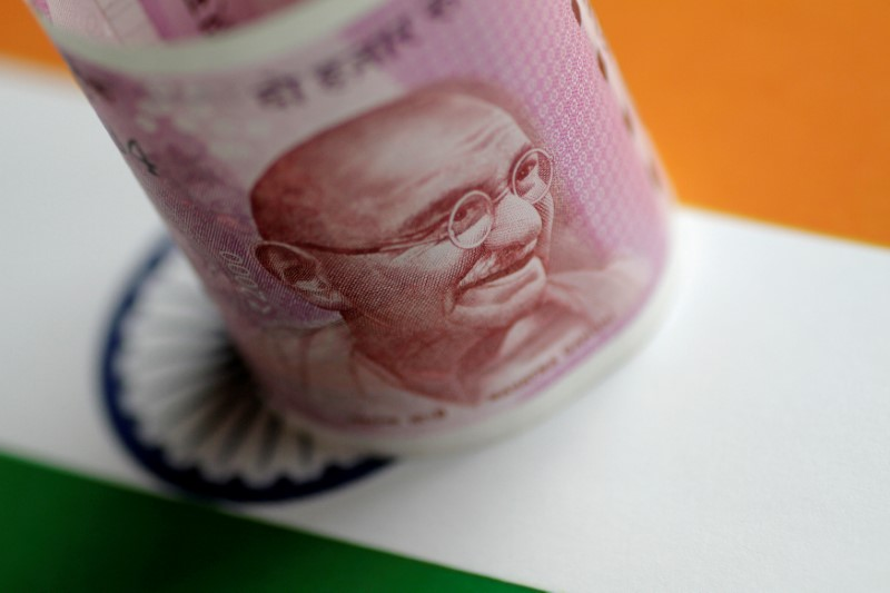 The Indian rupee is expected to open higher against the dollar