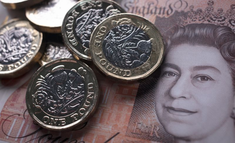 Sterling ticks up after price data