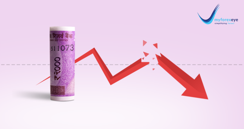 Indian rupee fell for a seventh week