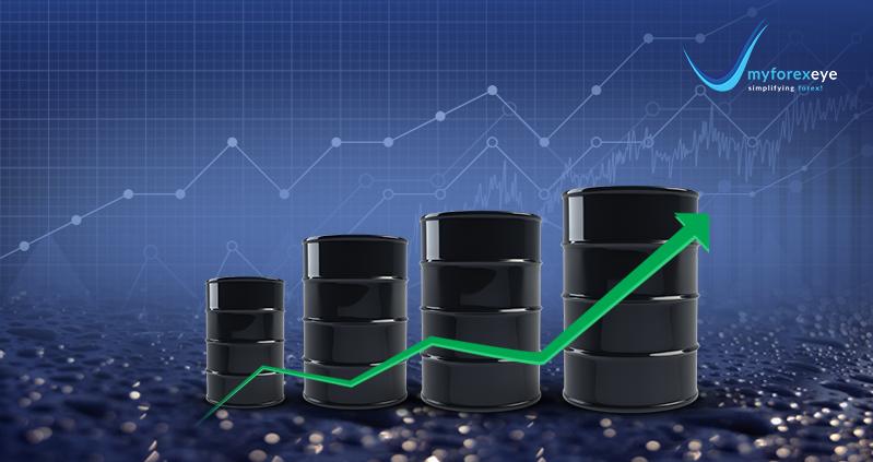 Brent oil breaks out towards 64