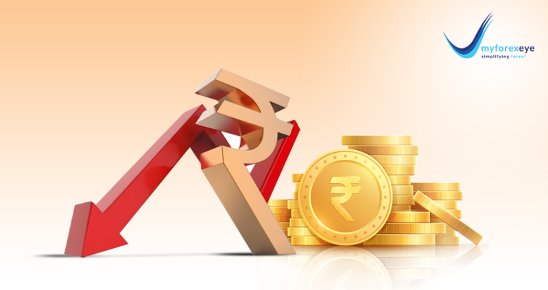 Rupee logged its second weekly decline