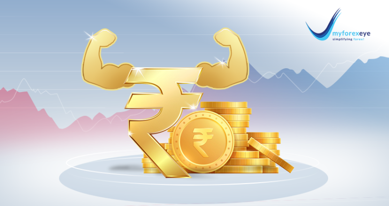 The Indian rupee opened higher against the dollar