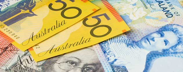 Australia dollar pressured by policy risk as New Zealand dollar outperforms