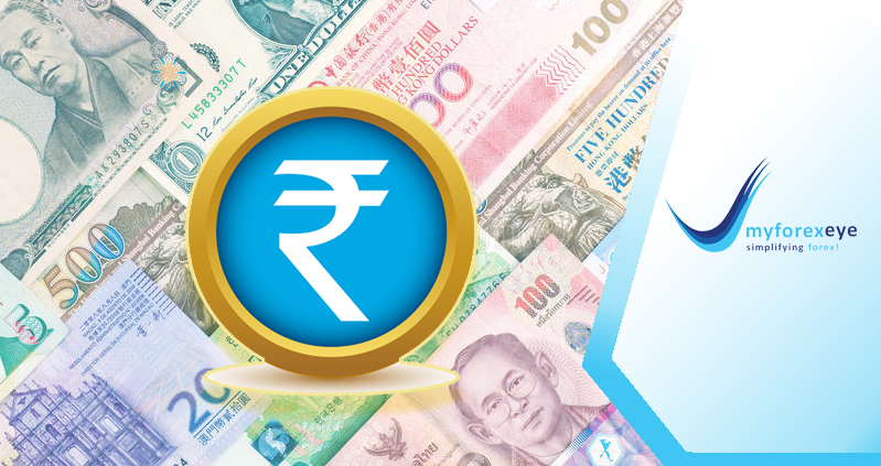 Rupee's movement compared to Asian peers