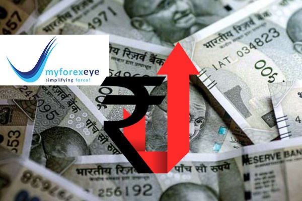 India Rupee Gains Most In 15 Months As Shares Gain, Dollar Index Falls