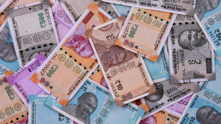 Indian Rupee Dips For 6th Consecutive